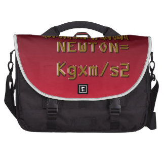 Metal Newton Law Of Motion Commuter Bag