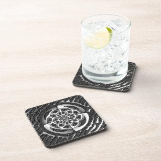 Metal object drink coaster