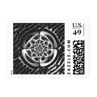 Metal object postage
