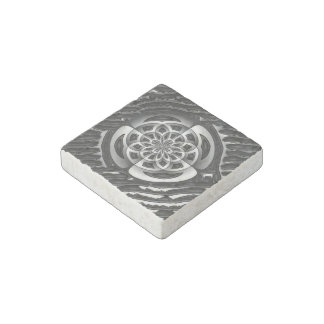 Metal object stone magnet