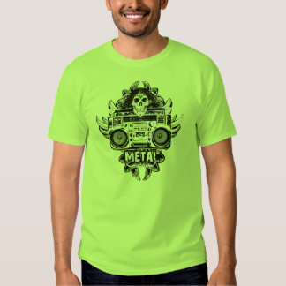 METAL! Old School Boombox Tee Shirt
