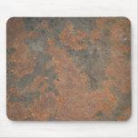 Metal oxidado alfombrillas de ratón