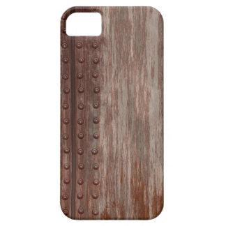 Metal oxidado clavado sucio iPhone 5 fundas
