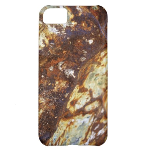 Metal oxidado funda para iPhone 5C