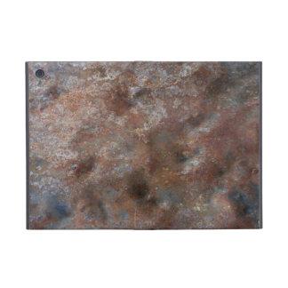 Metal oxidado iPad mini fundas