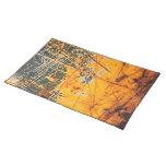 Metal oxidado Placemat Manteles