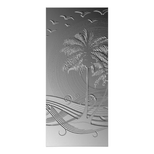 Metal Palms Customized Rack Card
