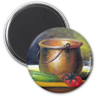 METAL PAN - by LEOMARIANO Magnet