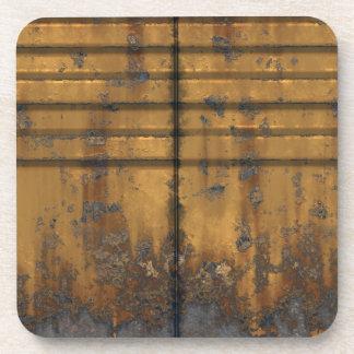 Metal Panels 1  Coaster