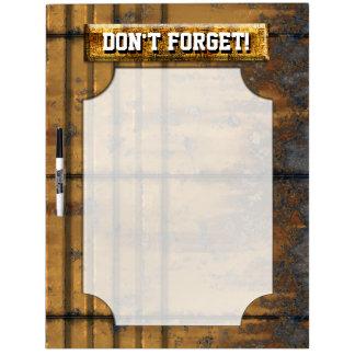Metal Panels 1 Dry-Erase Board Options