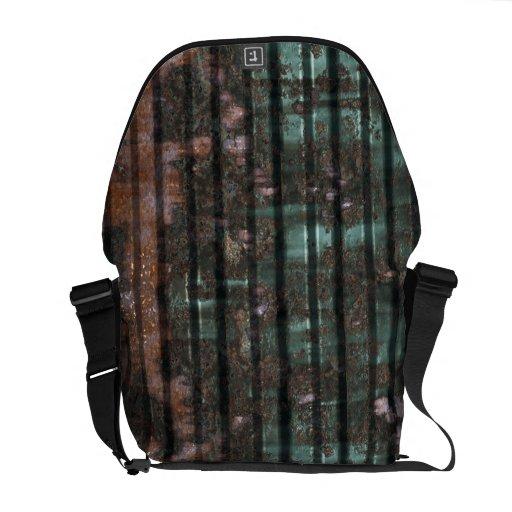 Metal Panels 2 Messenger Bag