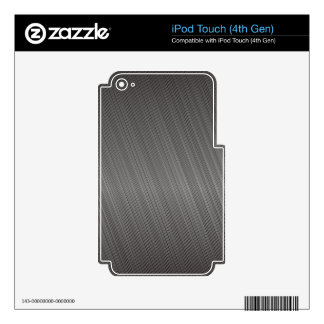 Metal Pattern iPod Touch 4G Decals