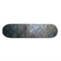 Metal Pattern Skateboard