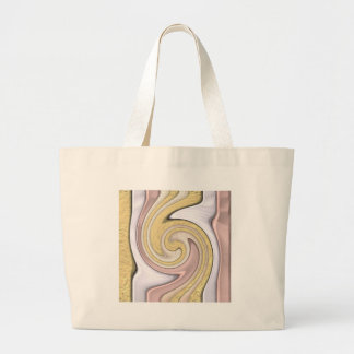 Metal pattern with shine large tote bag