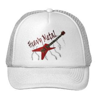 Metal pesado de la guitarra gorra