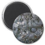 Metal pesado del hierro del Grunge Imán Para Frigorifico