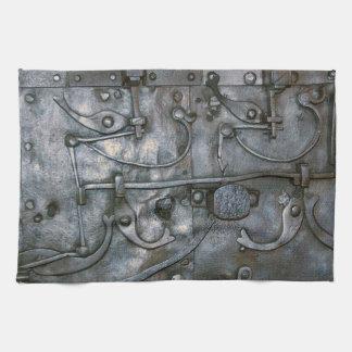Metal pesado del hierro del Grunge Toalla