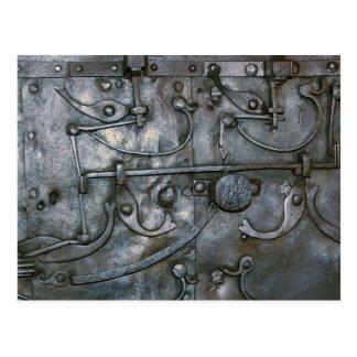 Metal pesado del hierro del Grunge Postales