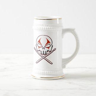 Metal pesado Stein de la taza de cerveza del rock-