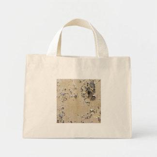 Metal pintado saltado texturizado bolsa tela pequeña