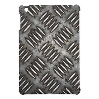 Metal plate background iPad mini cover