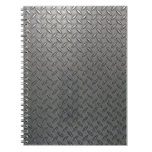 Metal Plate Effect #1 Notebook Note Book