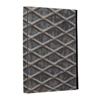 metal plate folio iPad case