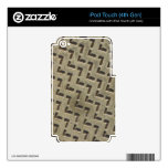 Metal Plate iPod Touch 4G Decal