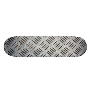 Metal Plate Texture Skateboard
