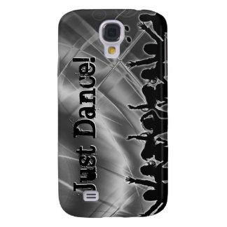 Metal plateado retro de la cubierta del iPhone 3 d Funda Para Galaxy S4