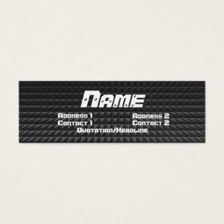 Metal profile card
