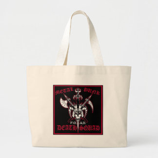 METAL PUNK DEATH SQUAD TOTE BAGS