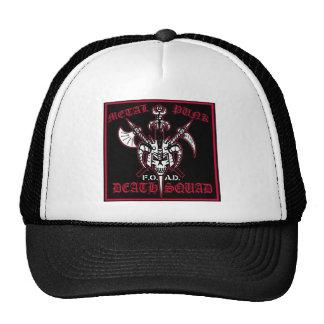 METAL PUNK DEATH SQUAD TRUCKER HAT