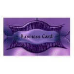 Metal púrpura africano elegante de la tarjeta de v