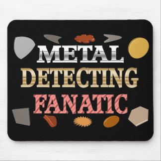 Metal que detecta al fanático tapete de raton