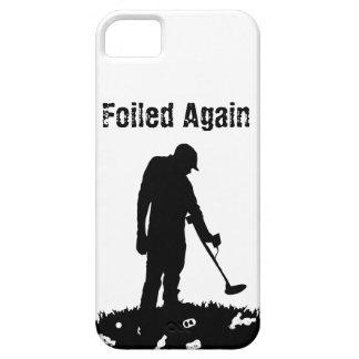 Metal que detecta - frustrado otra vez - el caso iPhone 5 cobertura