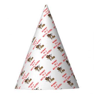 METAL queen Party Hat