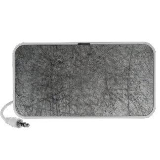 metal rasguñado laptop altavoz