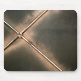 Metal religious cross background mouse pad
