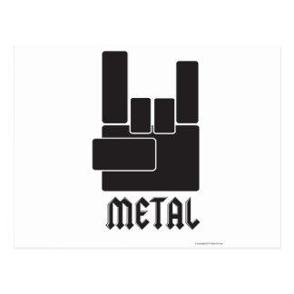 Metal Rocks! Postcard