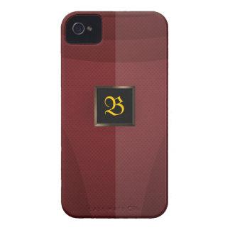 Metal rojo Case-Mate iPhone 4 fundas