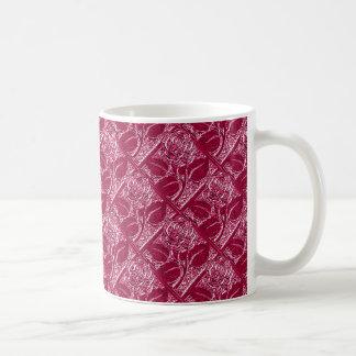 Metal Roses-13-Magenta-11oz Coffee Mug
