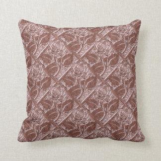 Dusty Pink Flower Pillows - Decorative & Throw Pillows Zazzle
