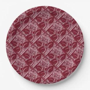 Metal Roses-16-Wine-Paper Plates  sc 1 st  Zazzle & Wine Themed Plates | Zazzle
