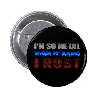 Metal Rust Button