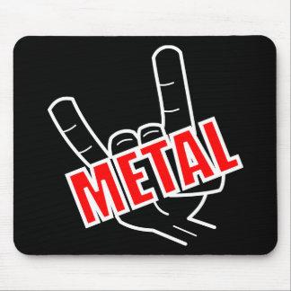 Metal Salute Mouse Pad
