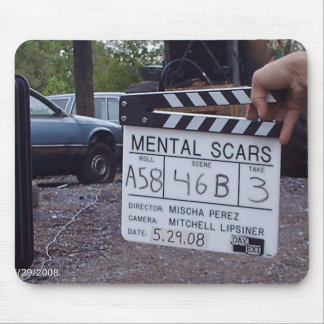 Metal Scars Official Slate Picture Mouse Pad
