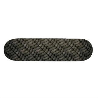 Metal shed metal scales skate decks