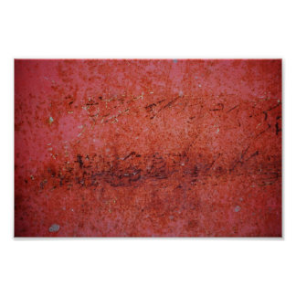Metal-sheet-with-rust339 RED RUST SHEETMETAL BACKG Poster