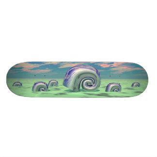 Metal Shells - 02 Skate Board Deck